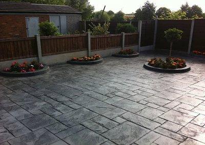 Printed concrete in Warrington