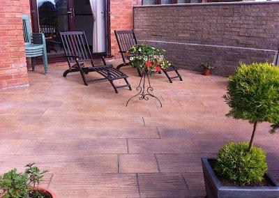 Preston patio installation