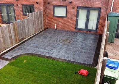 Pressed concrete in Burnley