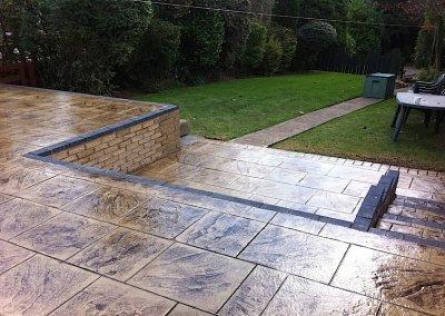 Pressed concrete in Bolton