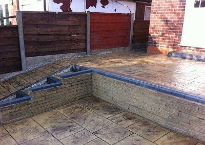 printed concrete in Bolton