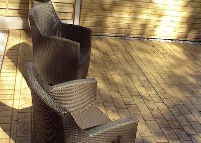 Concrete patios in Oldham