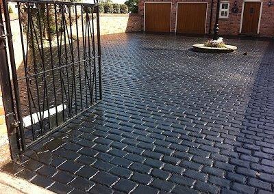 driveway-black-cobble-manchester