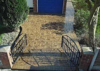 driveway-brandlesholme-bury-pattered-concrete