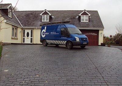 driveway-cobble-grey-van-chorley