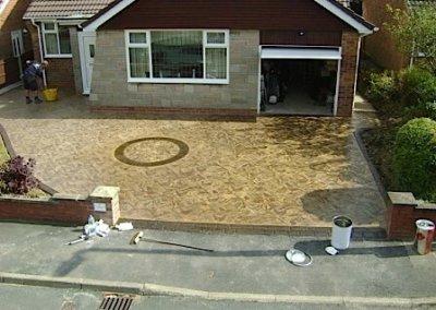 driveway-pattern-concrete-circle-feature