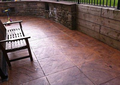 Concrete patio Manchester