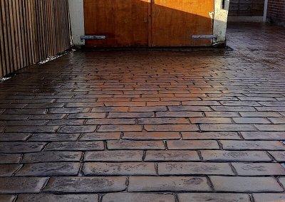 non-slip-pattern-imprinted-concrete