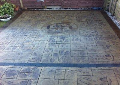 Concrete patio in Runcorn