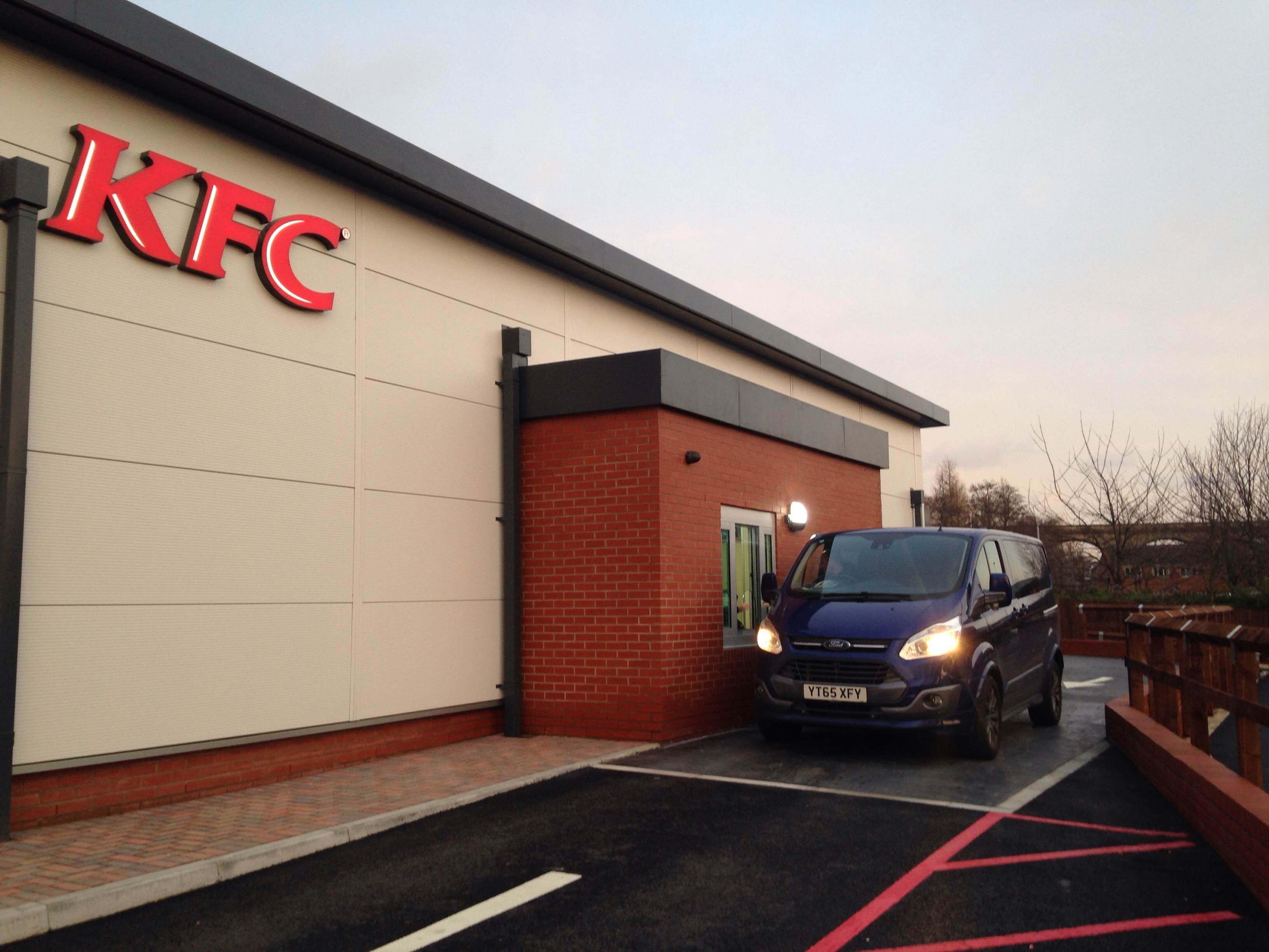 KFC Drive Thru installation