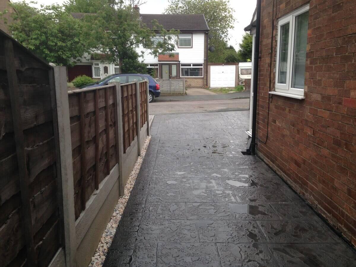 Urmston Driveway After