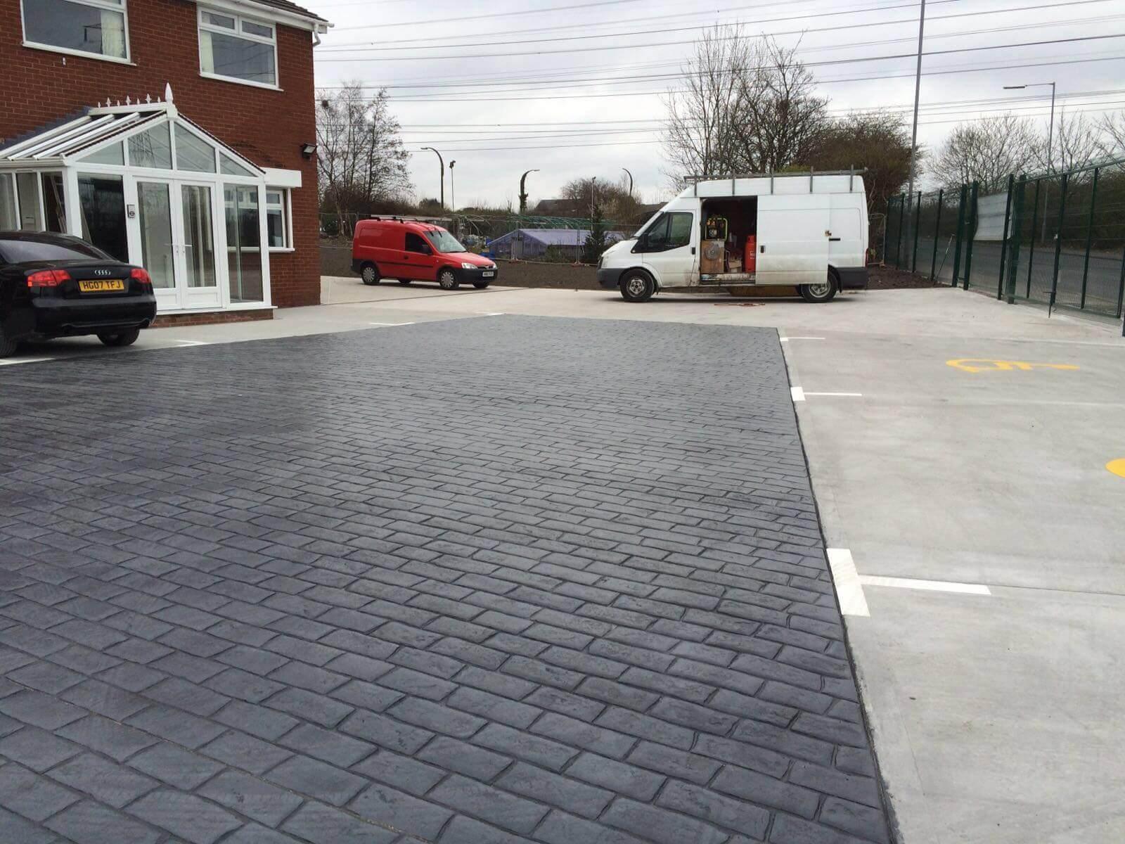 pattern-imprinted-concrete-parking-area