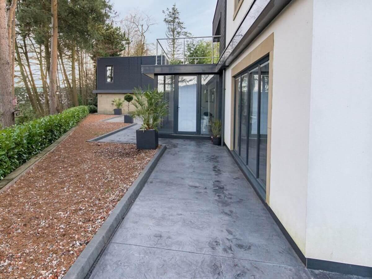 Imprinted Concrete Path Bolton