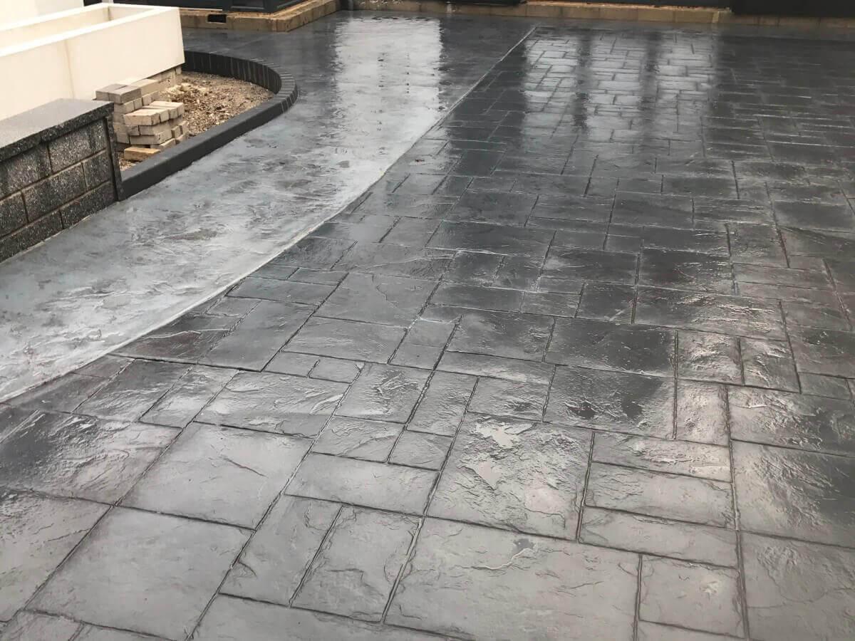 Pattern Imprinted Concrete Bolton