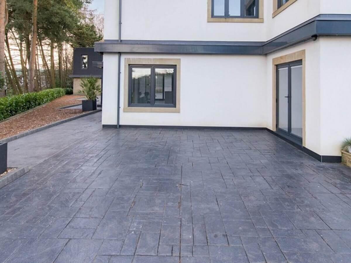 Patterned Concrete Drive Bolton
