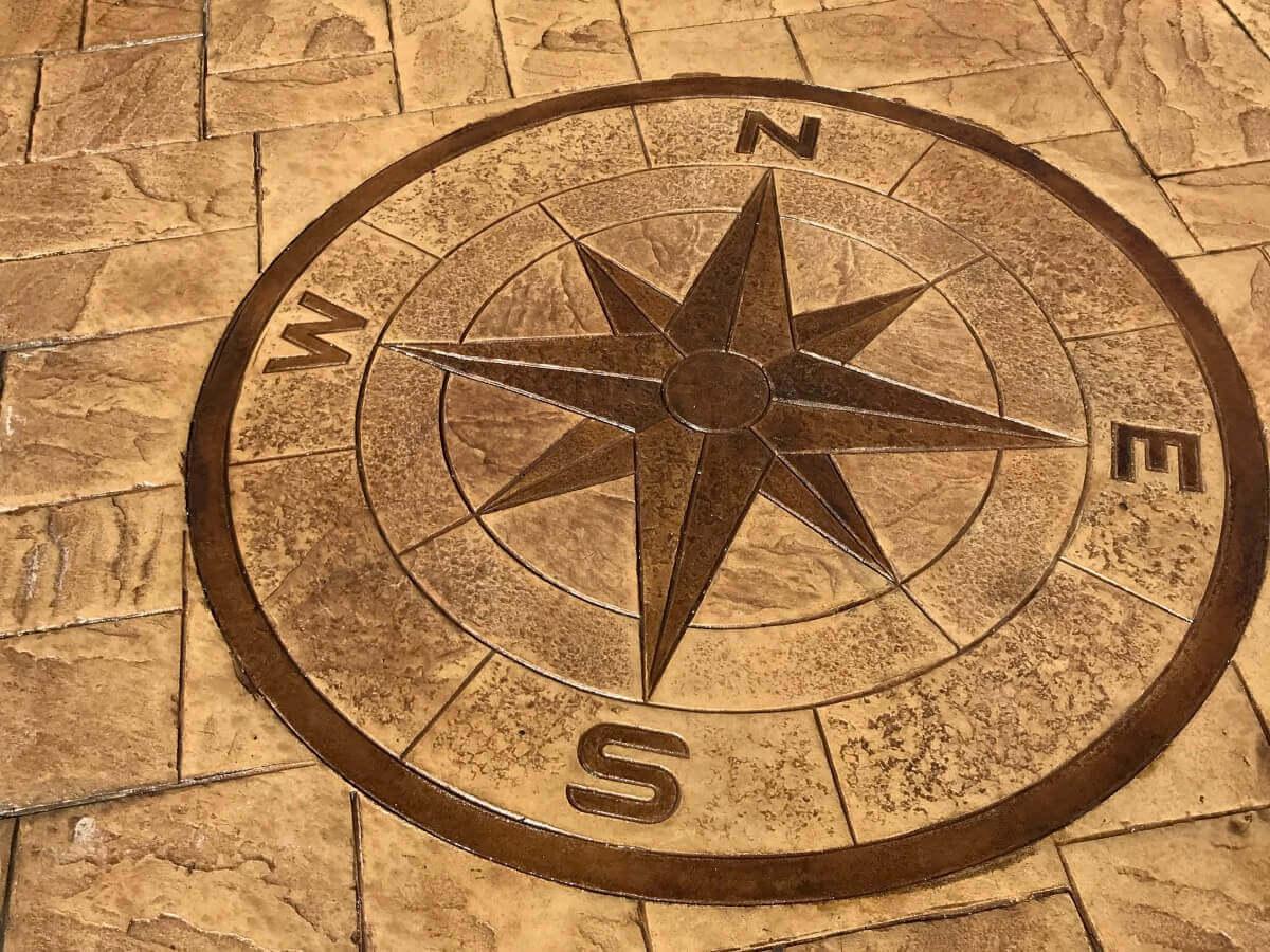 Imprinted Compass Burnley
