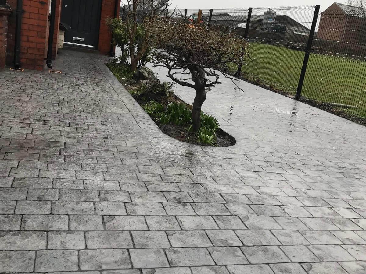 Bolton Concrete Driveway Installation