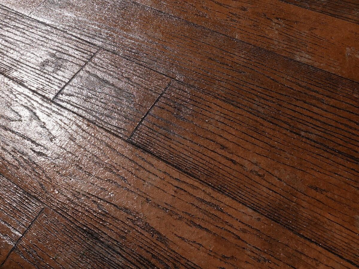 Imprinted Patio Decking Milnrow