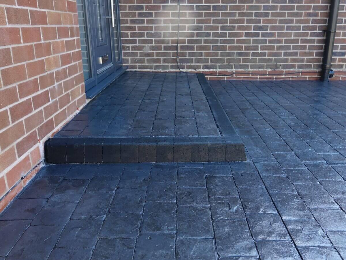 Pattern Imprinted Concrete Rochdale