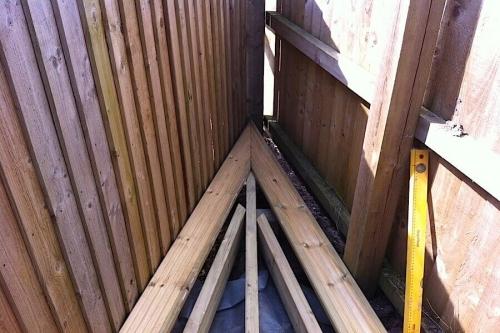 deckign frame